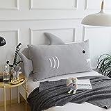 Cartoon Kissen Sofakissen Kleines Rückenkissen Netter Elefant Baumwolle Für Kinderbett,B-105 * 55cm