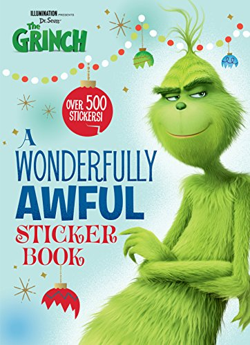 A Wonderfully Awful Sticker Book (Illumination's the Grinch) (Illumination Presents Dr. Seuss' the Grinch) por Mary Man-Kong