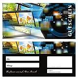 10 Stück Geschenkgutscheine (Kamera-707) Gutscheine Gutscheinkarten für Bereiche wie Einzelhandel fotografieren Bilder Fotos Fotostudio
