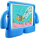 DMG iPad Air 2 Cover for Kids, Shockproof Lightweight Protective Back Cover Stand Case for Apple iPad Air 2 (Elephant - Blue)