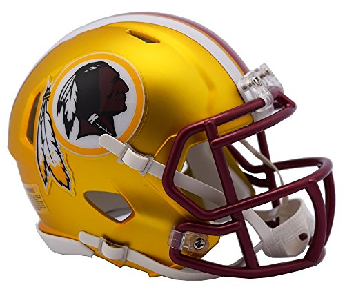 NFL Washington Redskins Alternate Blaze Speed Mini Helm