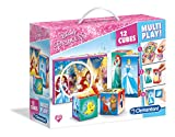 Clementoni - 41504 - Puzzle Cubi Multi play - Princess - 12 Cubi - Disney