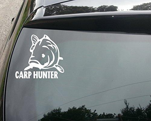 hunter-pesca-alla-carpa-motivo-auto-adesivo-vinilico-per-paraurti-150-mm