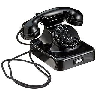 Unbekannt Nostalgietelefon W48, schwarz