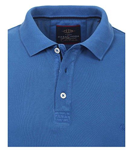 CASAMODA Herren Poloshirt 952137100 Blau (Blau 122)
