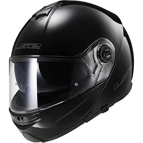 LS2 FF325 Strobe Motorcycle Helmet XXL Gloss Black