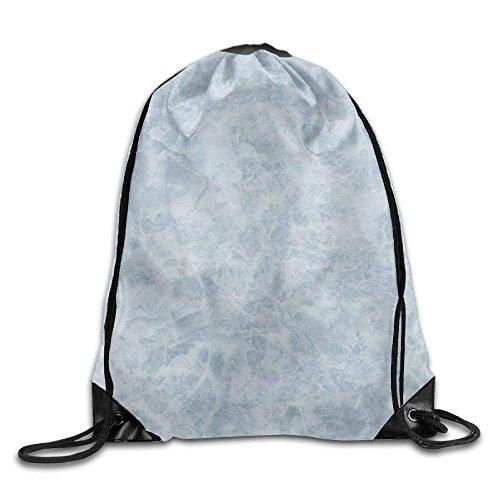 Etryrt Mochilas/Bolsas de Gimnasia,Bolsas de Cuerdas, Blue Marbling Drawstring Backpack Rucksack Shoulder Bags Training Gym Sack For Man and Women