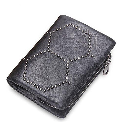 portafoglio-uomo-piccolo-porta-carte-di-credito-rivetti-in-pelle-adornamento-unisex-borsa-con-fibbia