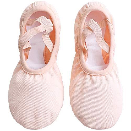 Chengxin Tanzschuhe Ballettschuhe Stretch Net Lace Tanzschuhe Soft Bottom Damenschuhe Adult Cat Claw Schuhe Schuhe (Color : PINK, Size : 33EU) -