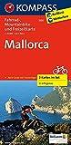 Mallorca: Fahrrad-, Mountainbike- und Freizeitkarte mit Führer. GPS-genau. 1:70000 (KOMPASS-Fahrradkarten International, Band 3500) -
