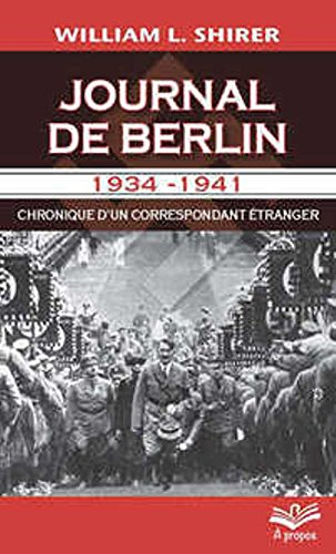 Journal de Berlin 1934-1941