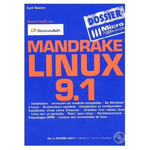 Linux Mandrake 9.1 (avec un CD-Rom)