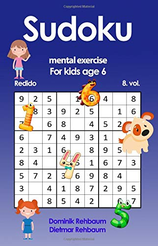 Redido Sudoku for kids age 6 Volume 8