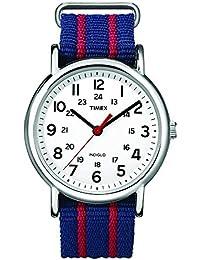73e089f5c127 ... Relojes para hombre   Azul. Reloj Timex Unisex Special Weekender Slip  Through