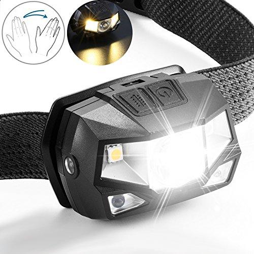 Stirnlampen Lampen & Laternen Kopflampe Stirnlampe Headlamp Lampe mit 7 LEDs ideal zum Joggen Wandern Laufen