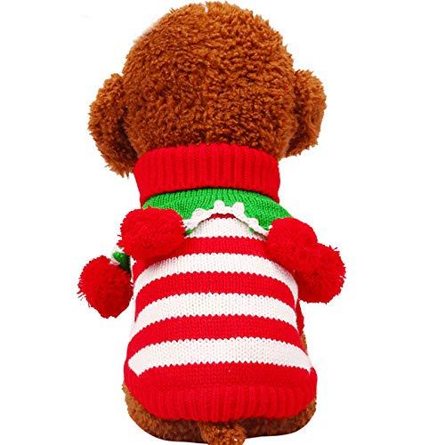 PZSSXDZW Spaß-Weihnachtslustiger Clown Striped verdicken ()