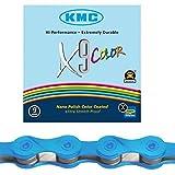 KMC X9 Color 9 Kette Farbe Blau