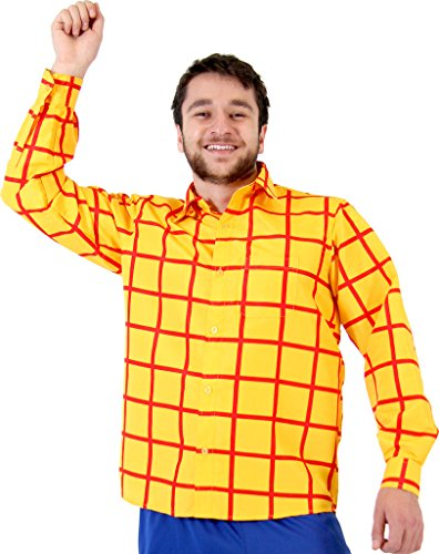oy Costume Shirt (Small/Medium) (Jessie Und Buzz Kostümen)