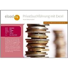 Privatbuchführung mit Excel (German Edition)