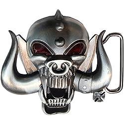 Choppershop Motorhead Heavy Metal Rock música Metal Hebilla de cinturón