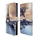 Head Case Designs Paris Skylines Der Städte Brieftasche Handyhülle aus Leder für Samsung Galaxy Grand Prime