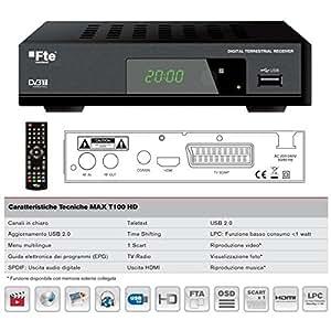 FTE - Tuner tnt MAX T 100 HD -