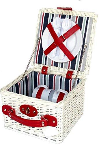 Picknickkorb für Kinder und Mädchen von Streifen (Welly Streifen)