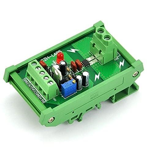 Electronics-Salon Support rail DIN +/-20amp courant AC/DC Module de capteur, basé sur le ACS712