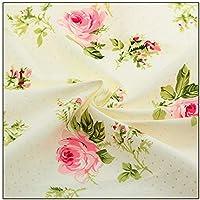 IDEA HIGH IDEA DE ALTA estampado de flores de tela de algodón Cortinas Tissu costura remiendo