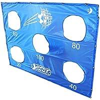 Best Sporting - Set de portería de fútbol, diana de fútbol, color Torwand, Blau, tamaño Torwand