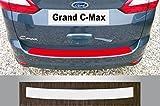 passgenau für Ford Grand C-Max Bj. ab 2010, auch Facelift ab 2015,Lackschutzfolie Ladekantenschutz transparent
