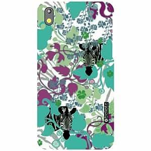 Printland Back Cover For HTC Desire 816G - floric Designer Cases