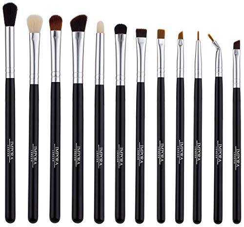 Set Completo di pennelli per occhi dello Impora London / Complete Eye Brush Set