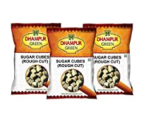 Dhampur Green Rough Cut Cubes Assortment Pack(Pack of 3), free Jaggery 220 g