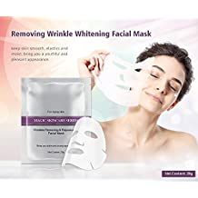 Mond'sub Wrinkles Removing & Rejuvenating Anti-ageing Face Mask Sheets for Aging Skin (Set of 5 x 28g)