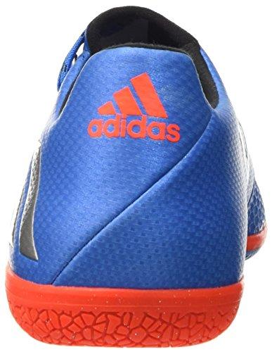 adidas Messi 16.3 in, Scarpe da Calcio Uomo Blu (Shock Blue /matte Silver/core Black)