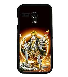 Fuson Kali Bhagwan Designer Back Case Cover for Motorola Moto X Style :: Moto X Pure Edition (Kali Maa Maha Kali Kalika Devi)