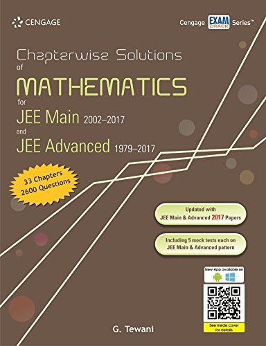 Chapterwise Solutions of Mathematics for JEE Main 2002-2017 and JEE Advanced 1979-2017