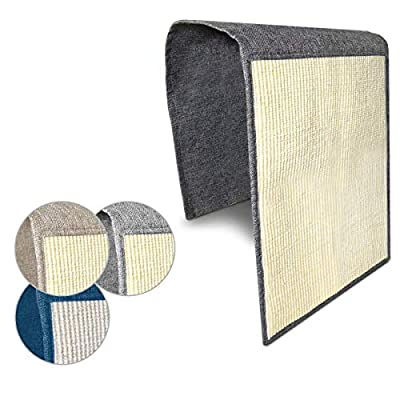 Navaris Cat Scratch Mat Sofa Shield - Natural Sisal Furniture Protector Scratching Pad for Cats - Scratch Carpet for Bed, Chair, Couch, Seat, Stairs by KW-Commerce