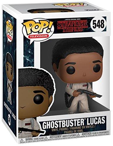 Stranger Things Figura Vinilo Ghostbusters Lucas 548 Figura de coleccin