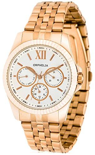 Orphelia - OR53471387 - Montre Mixte - Quartz Analogique - Bracelet Acier inoxydable Or et Rose