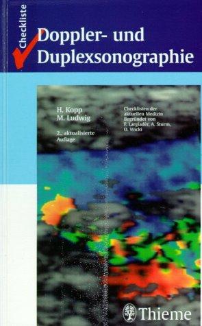 Checkliste Doppler- und Duplexsonographie. par Malte Ludwig