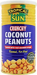 Tropical Sun Crunchy Coconut Peanuts 330 g (Pack of 6)