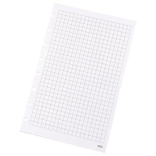 Refill-Papier kar. f. ARC Spiralbuch weiß A5 100g 50 Blatt 22017 Notizbuch-refill-papier