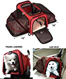 Premium Airline Approved Expandable Pet Carrier by Pet Peppy®- TWO SIDE Expansion, Designed for Cats, Dogs, Kittens, Puppies - Extra Spacious, Comfortable, Soft Sided Travel Carrier - 100% Satisfaction Guaranteed!
