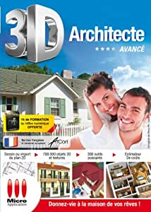 3d architecte facile logiciels for 3d architecte micro application