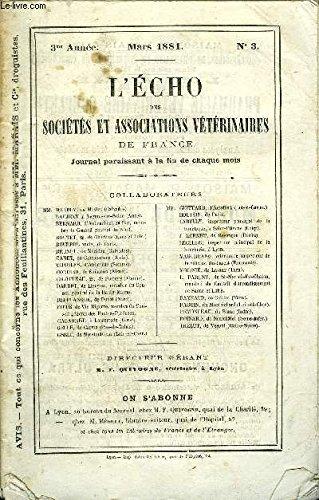 L'ECHO DES SOCIETES ET ASSOCIATIONS ...