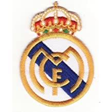 Real Madrid C.F.Parche para coser o pegar con la plancha, diseño de escudo del