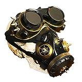 YKKHHCD Steampunk Gasmaske, Schutzbrillen Brille Gothic Atemmaske Cyber-Rolle Spielen Spielzeug...