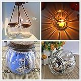 Yongse Kürbis hängende Flasche Glas Leuchter Vase Kerzenleuchter Kerzenleuchter Candlelight Home Decor Geschenk